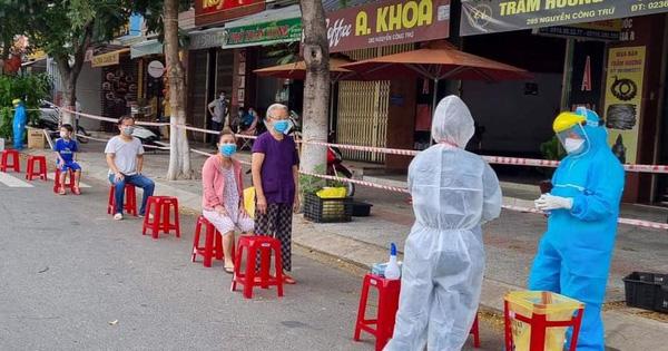 Đà Nẵng thêm 77 ca Covid-19, 1 người làm ở KCN Hòa Cầm