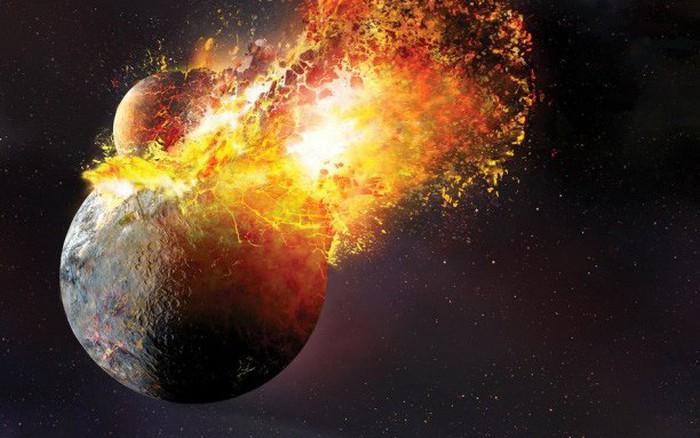 Kết quả hình ảnh cho vụ va chạm vũ trụ
