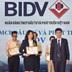 """Dịch vụ Thu hộ học phí của BIDV vào Top 10 """"Tin & Dùng"""" 2019"""